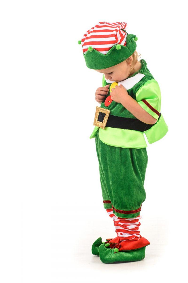 Эльф новогодний карнавальный костюм для малыша