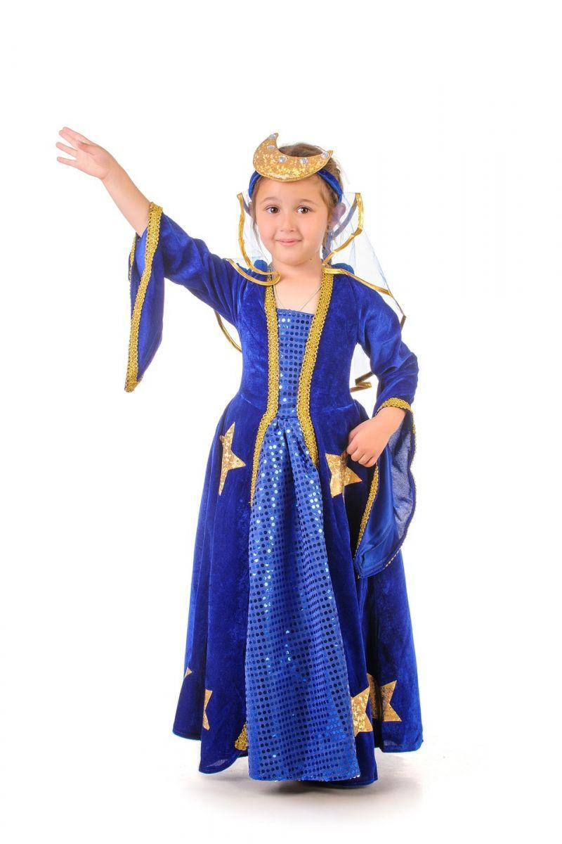 Масочка - «Ночка» карнавальный костюм для девочки / фото №1003