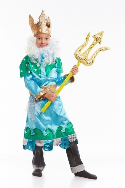 «Нептун царский» карнавальный костюм для мальчика