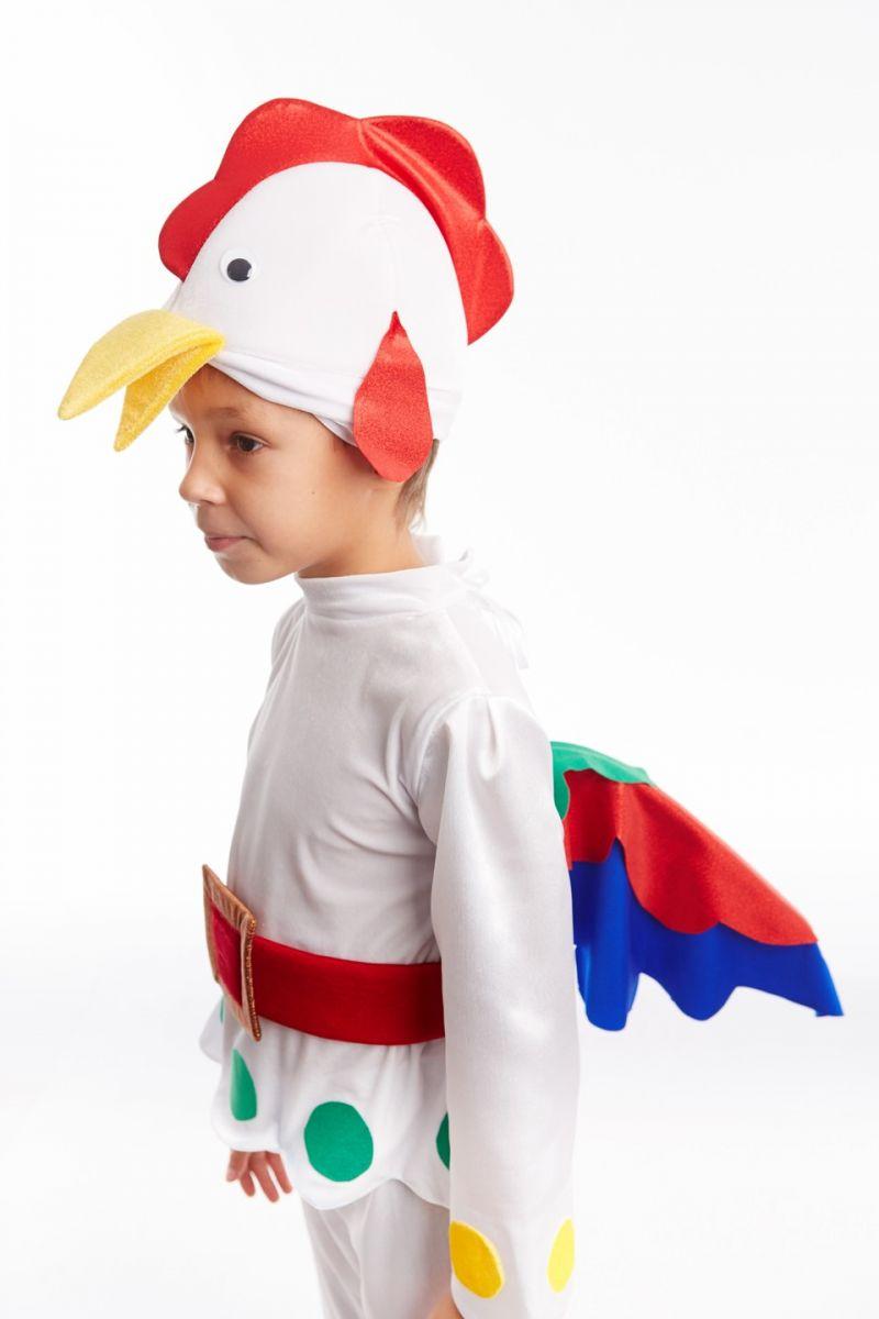Масочка - Петушок «Бременские музыканты» карнавальный костюм для мальчика / фото №1017