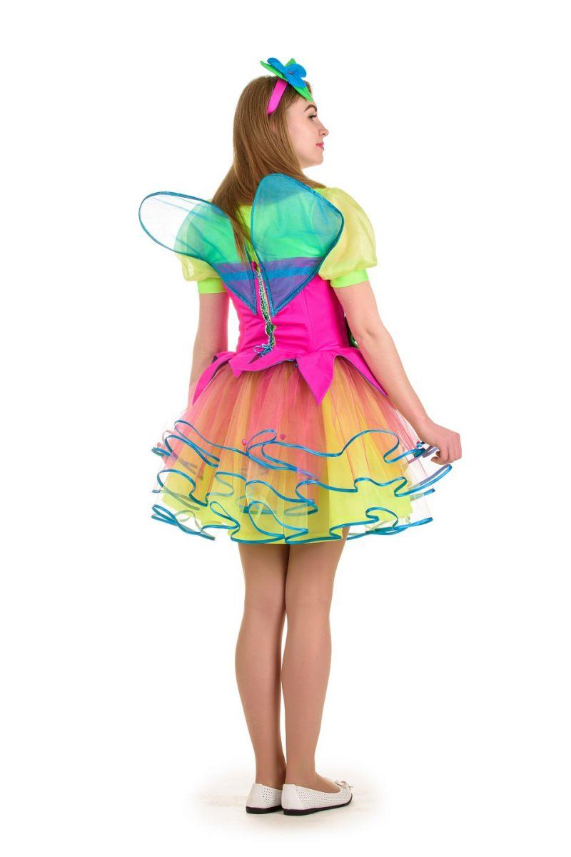 Масочка - Фея «Веснушка» карнавальный костюм для взрослых / фото №1028