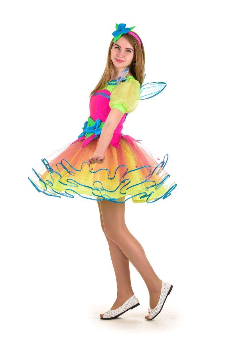 Масочка - Фея «Веснушка» карнавальный костюм для взрослых / фото №1029