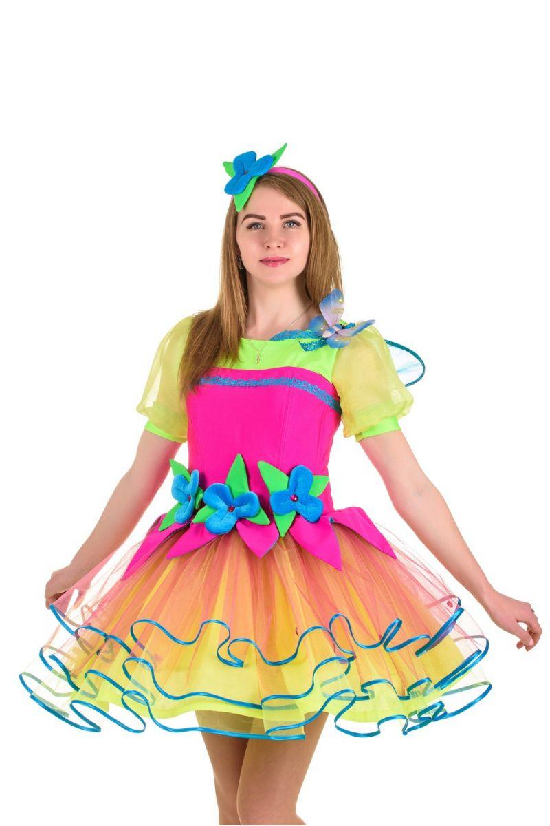 Масочка - Фея «Веснушка» карнавальный костюм для взрослых / фото №1030