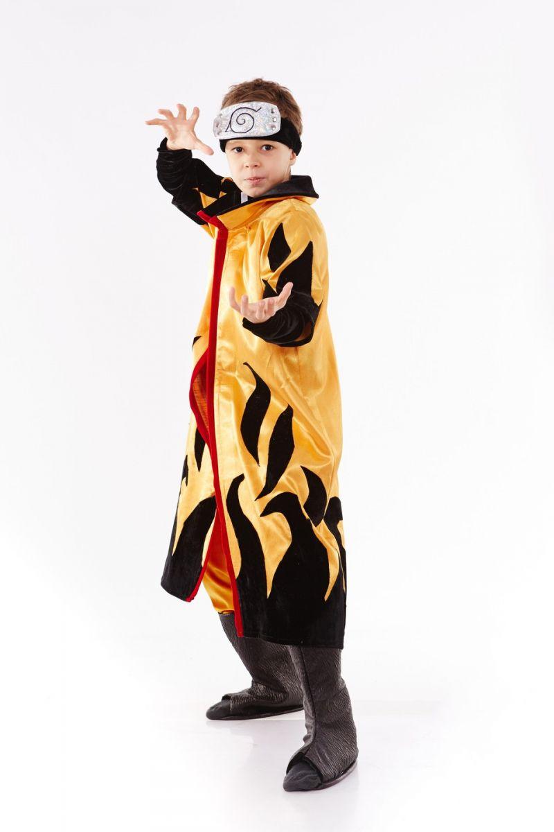 «Uzumaki Naruto» в плаще карнавальный костюм для мальчика