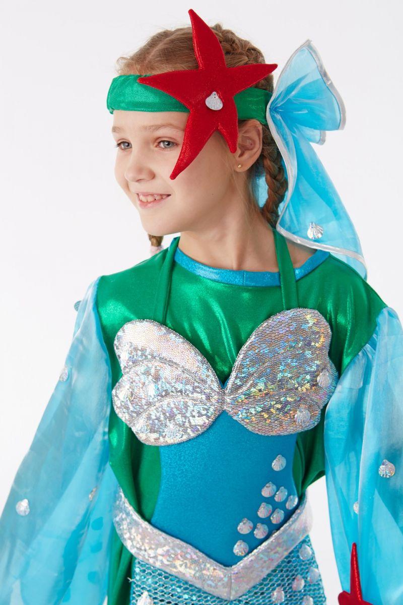 Масочка - Русалочка «Ариэль» карнавальный костюм для девочки / фото №1044