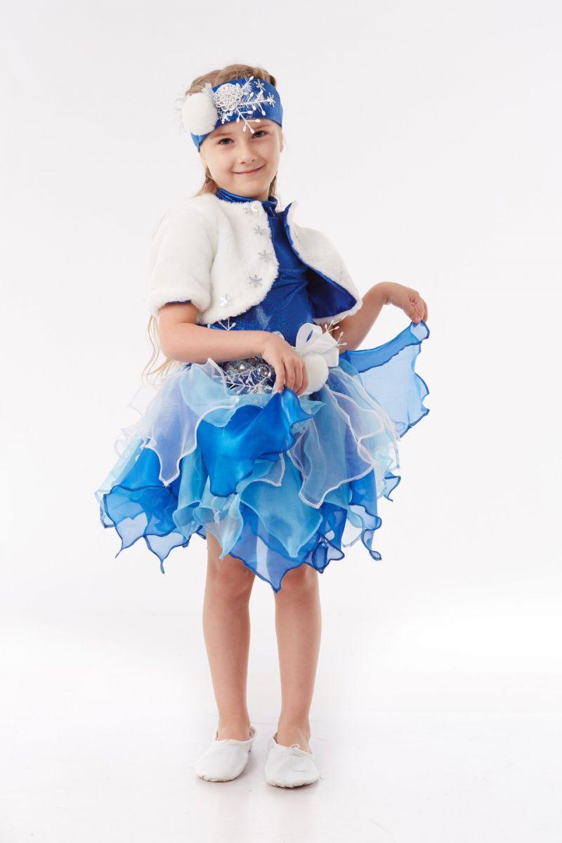 Снежинка «Снежка» карнавальный костюм для девочки