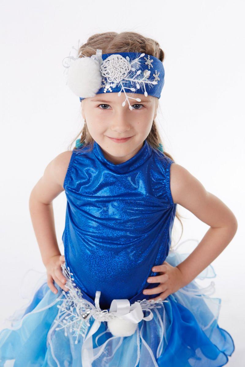 Масочка - Снежинка «Снежка» карнавальный костюм для девочки / фото №1046
