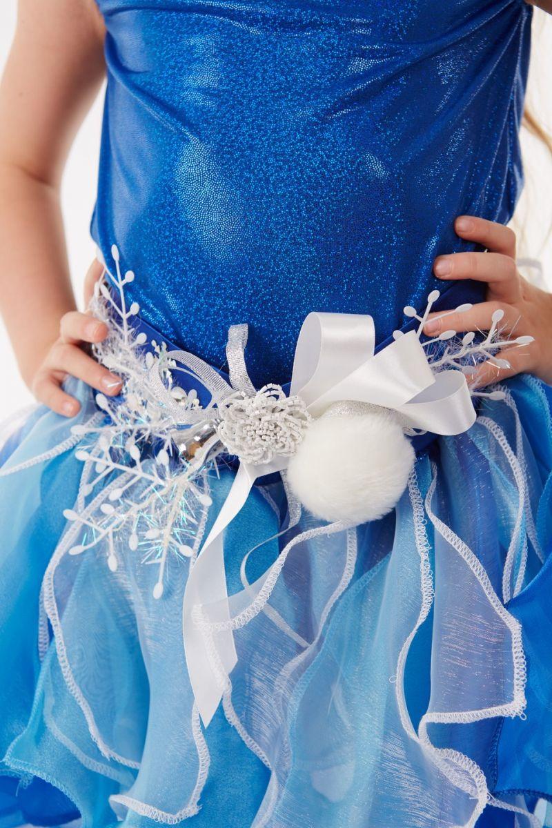 Масочка - Снежинка «Снежка» карнавальный костюм для девочки / фото №1047