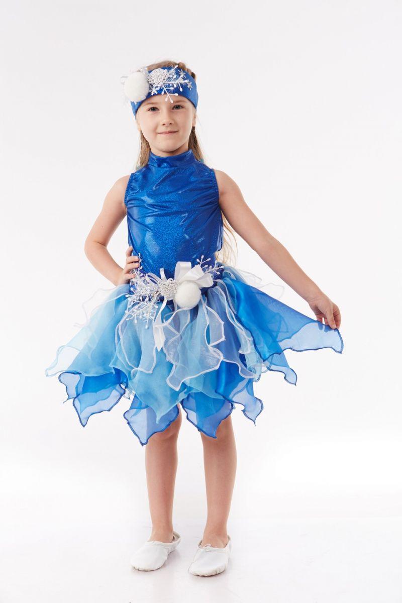 Масочка - Снежинка «Снежка» карнавальный костюм для девочки / фото №1048