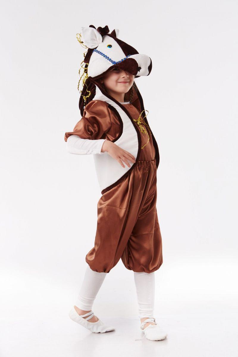 Масочка - Лошадка «Праздничная» карнавальный костюм для детей / фото №1055