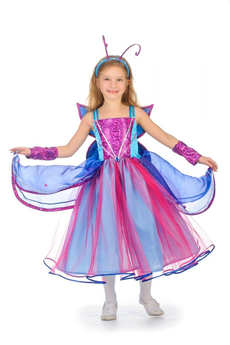 Бабочка «Сказочная» карнавальный костюм для девочки