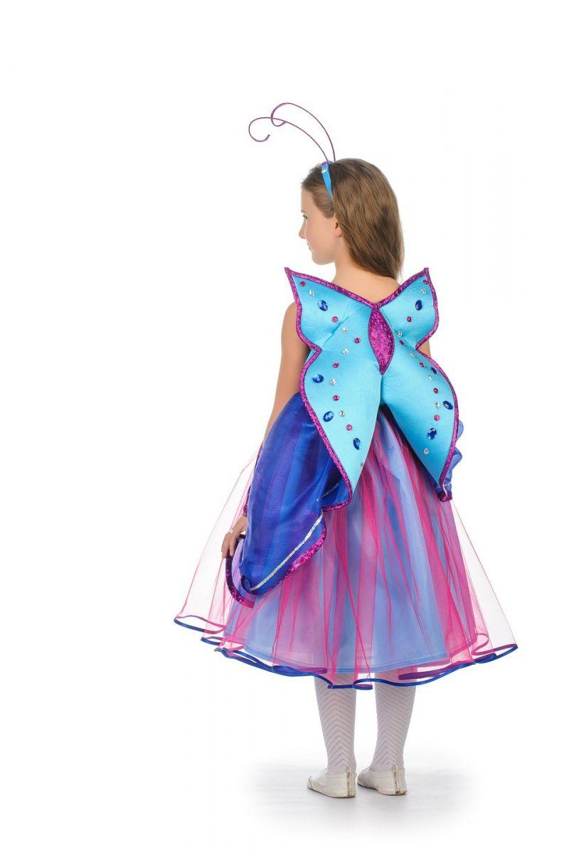 Масочка - Бабочка «Сказочная» карнавальный костюм для девочки / фото №1063