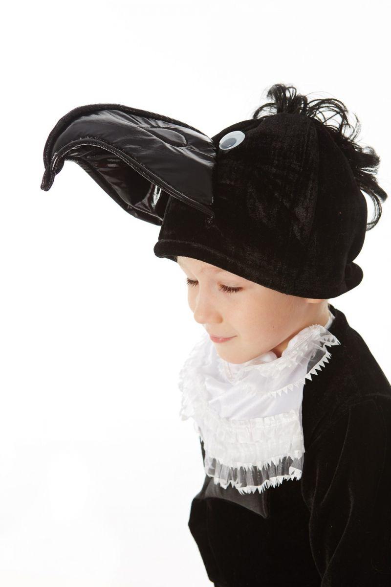 Масочка - «Ворон» карнавальный костюм для мальчика / фото №1068