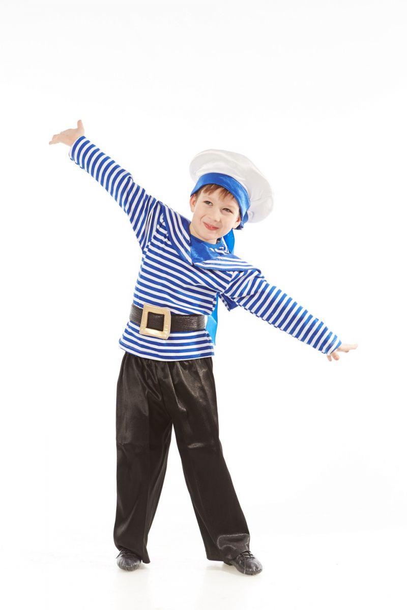 «Морячок в тельняшке» карнавальный костюм для мальчика