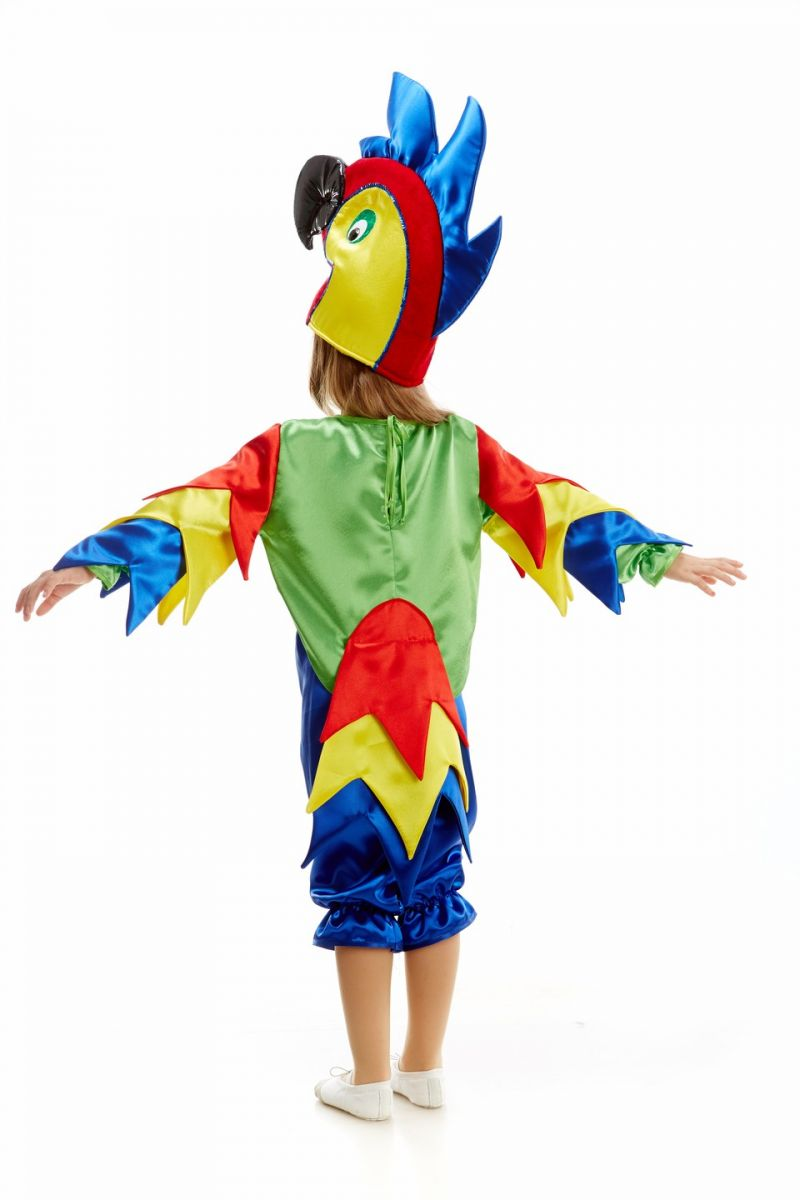Масочка - «Попугай» карнавальный костюм для детей / фото №1073