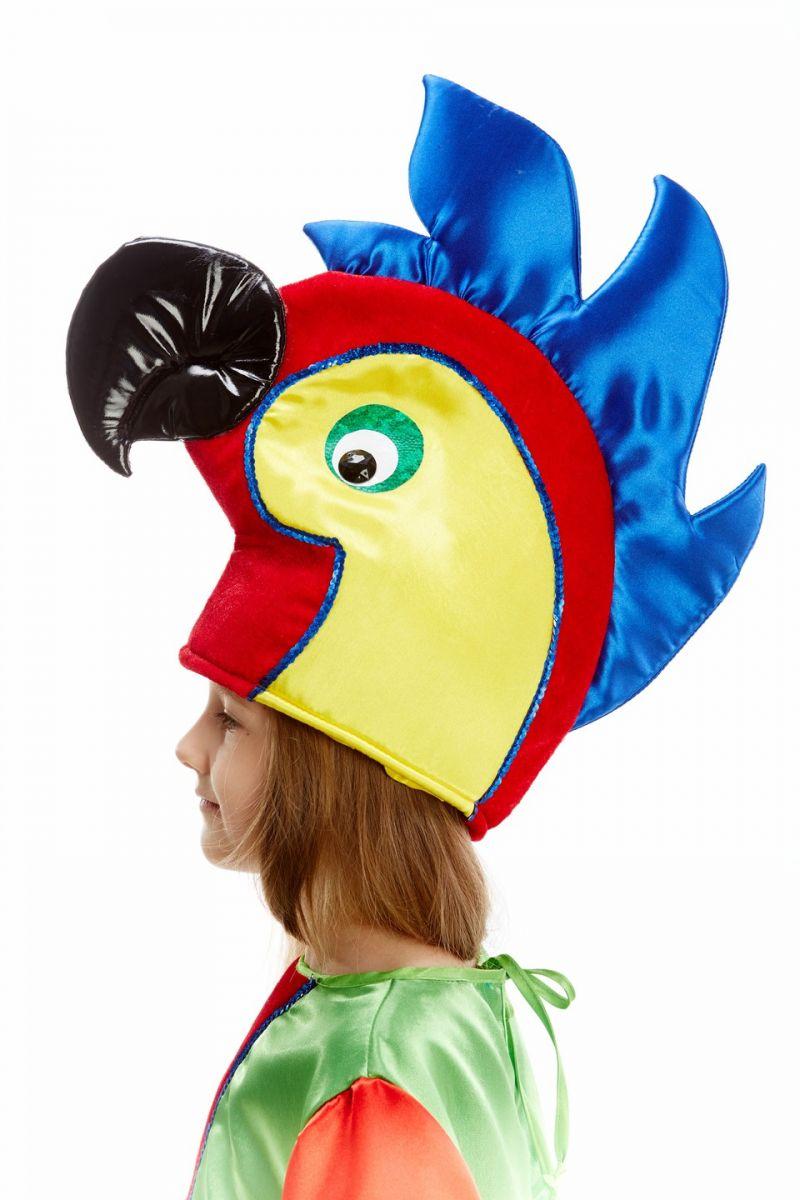 Масочка - «Попугай» карнавальный костюм для детей / фото №1074