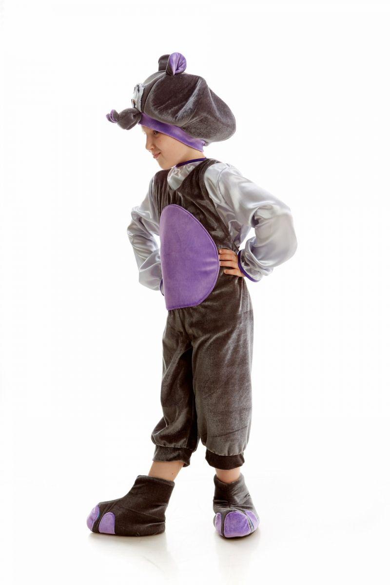 Масочка - «Бегемот» карнавальный костюм для мальчика / фото №1082