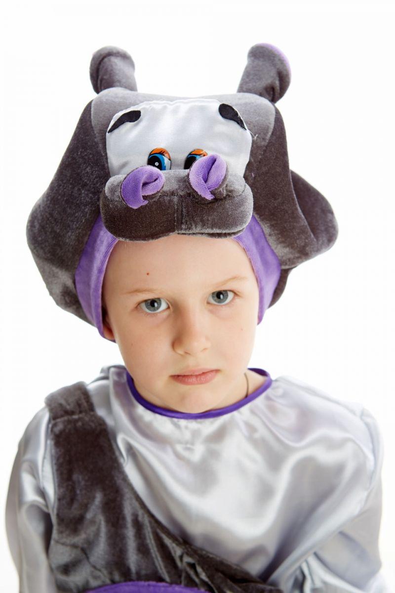 Масочка - «Бегемот» карнавальный костюм для мальчика / фото №1083