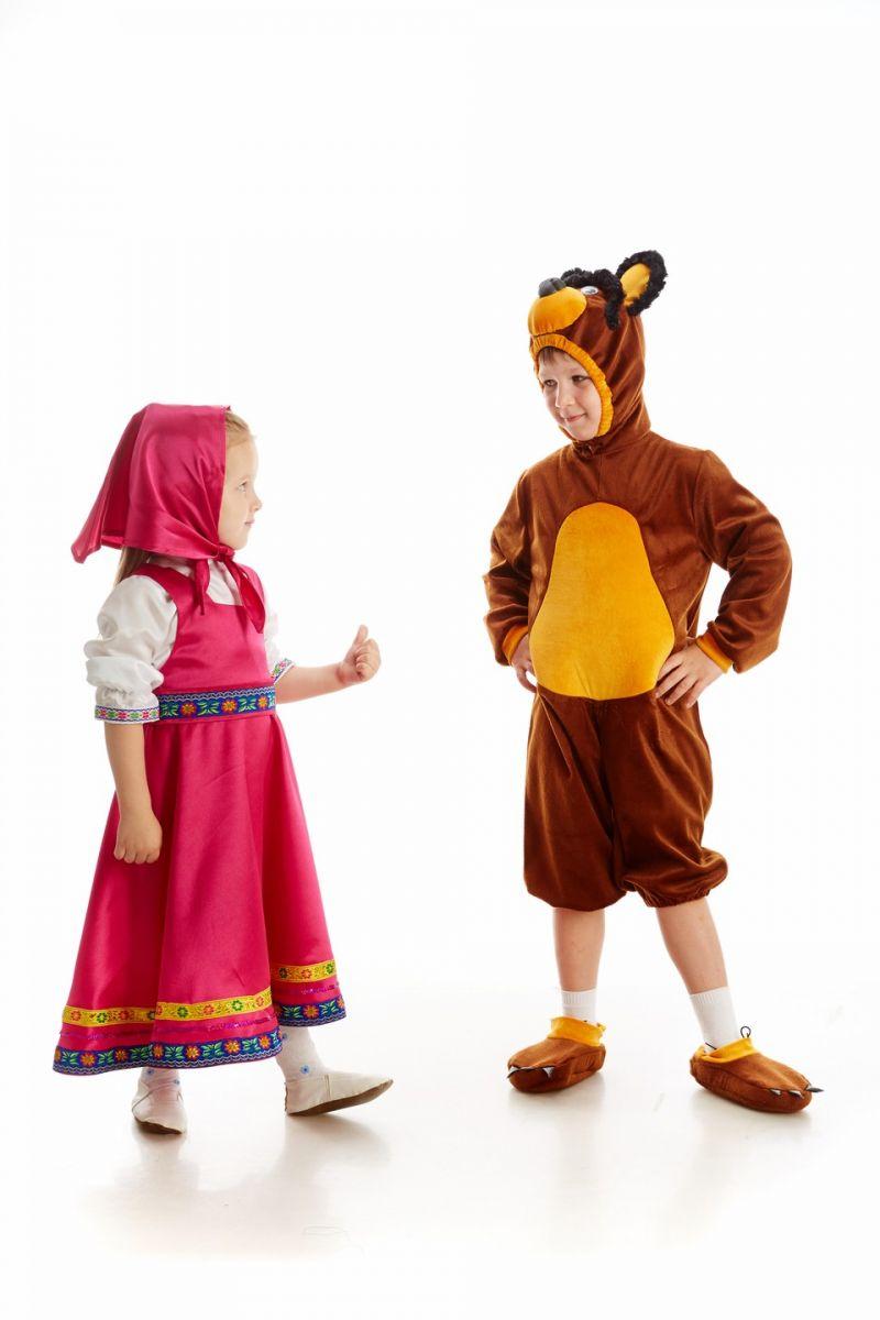 Масочка - Маша «Маша и медведь» карнавальный костюм для девочки / фото №1087
