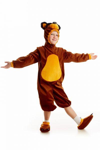 Медведь «Маша и Медведь» карнавальный костюм для мальчика
