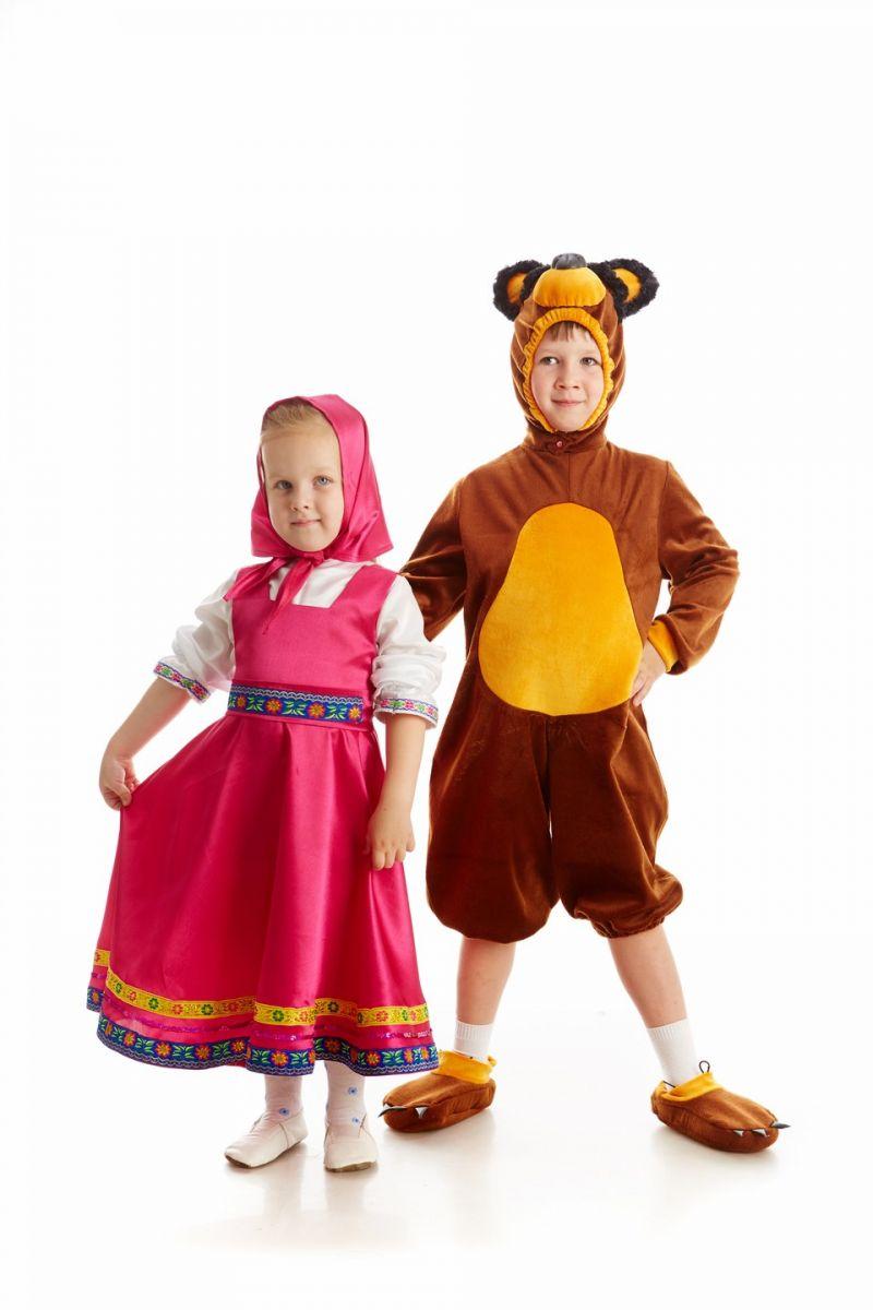 Масочка - Медведь «Маша и Медведь» карнавальный костюм для мальчика / фото №1090
