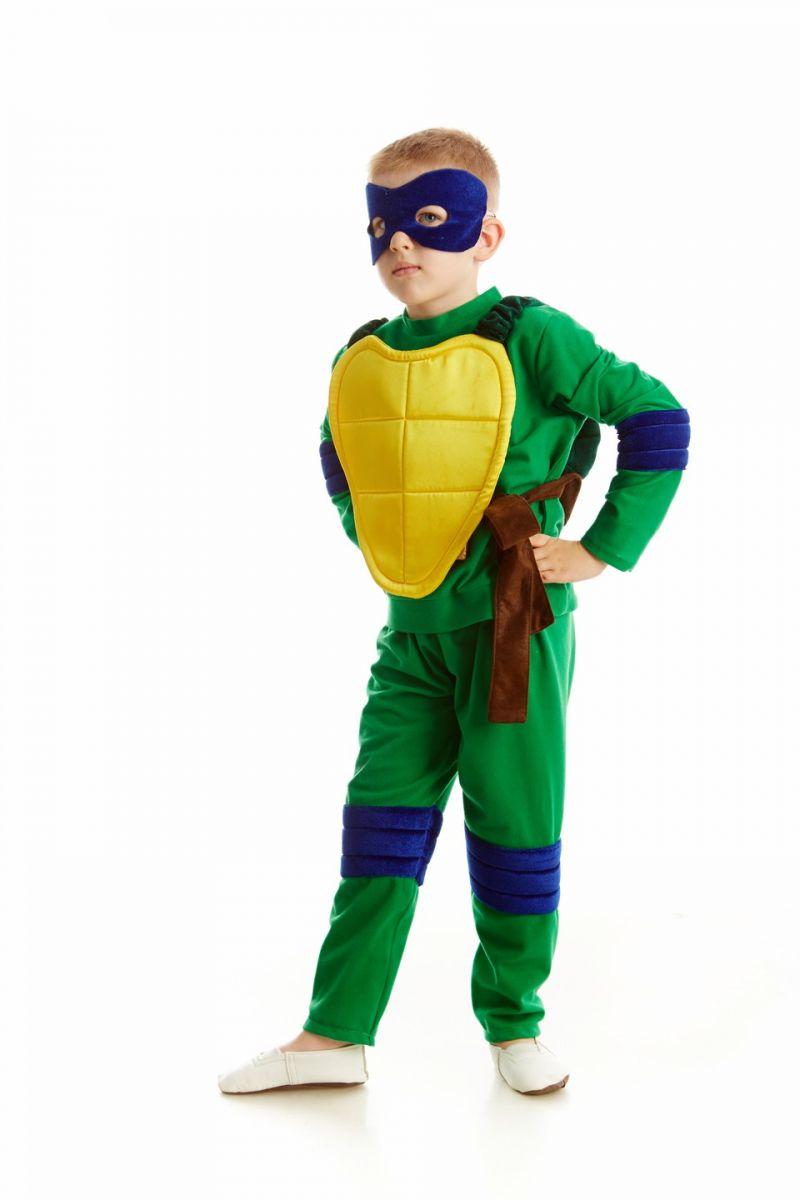 Черепашка-ниндзя «Леонардо» карнавальный костюм для мальчика