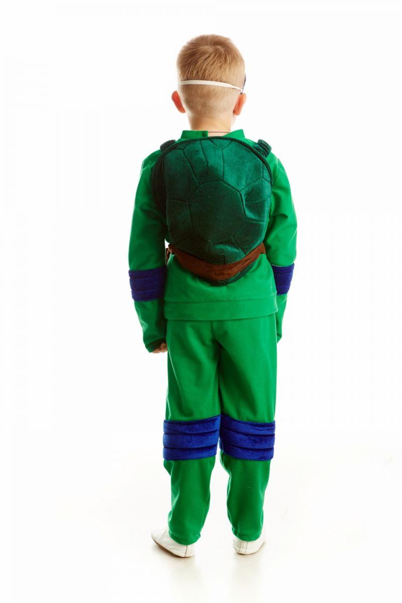 Масочка - Черепашка-ниндзя «Леонардо» карнавальный костюм для мальчика / фото №1093