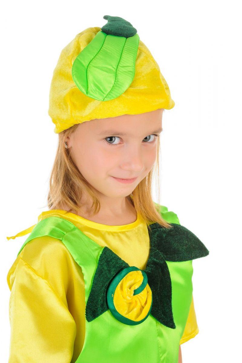 Масочка - «Кабачок» карнавальный костюм для детей / фото №1097