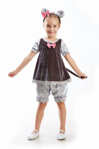 Мышка «Малышка» карнавальный костюм для девочки