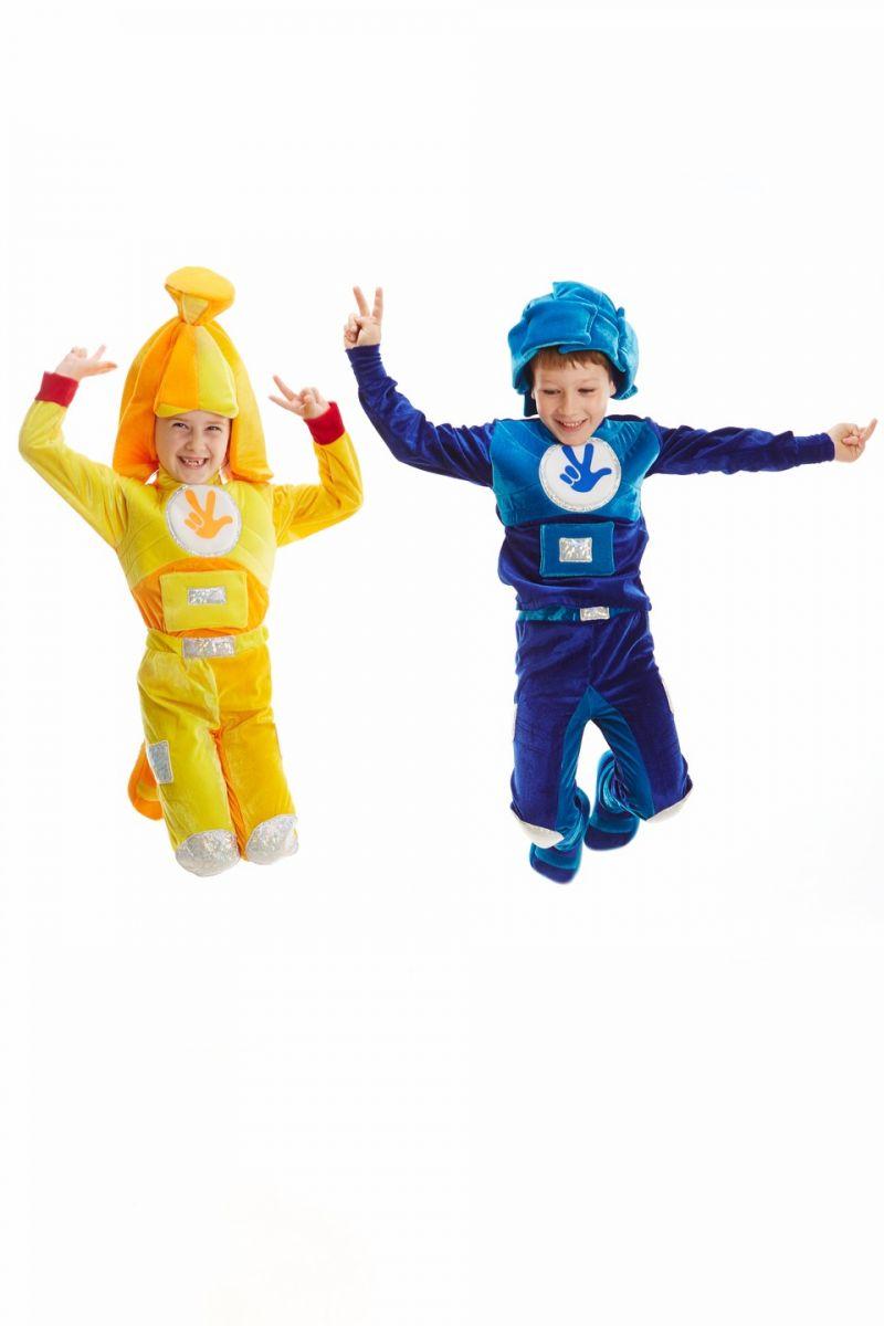 Масочка - Фиксик «Нолик» карнавальный костюм для мальчика / фото №1108