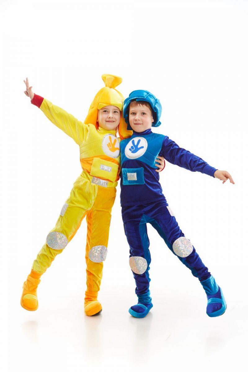 Масочка - Фиксик «Нолик» карнавальный костюм для мальчика / фото №1109