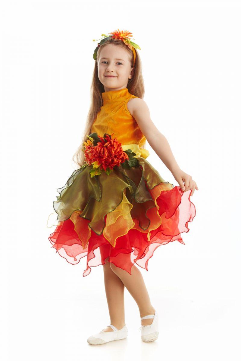Масочка - «Осень урожайная» карнавальный костюм для девочки / фото №1120