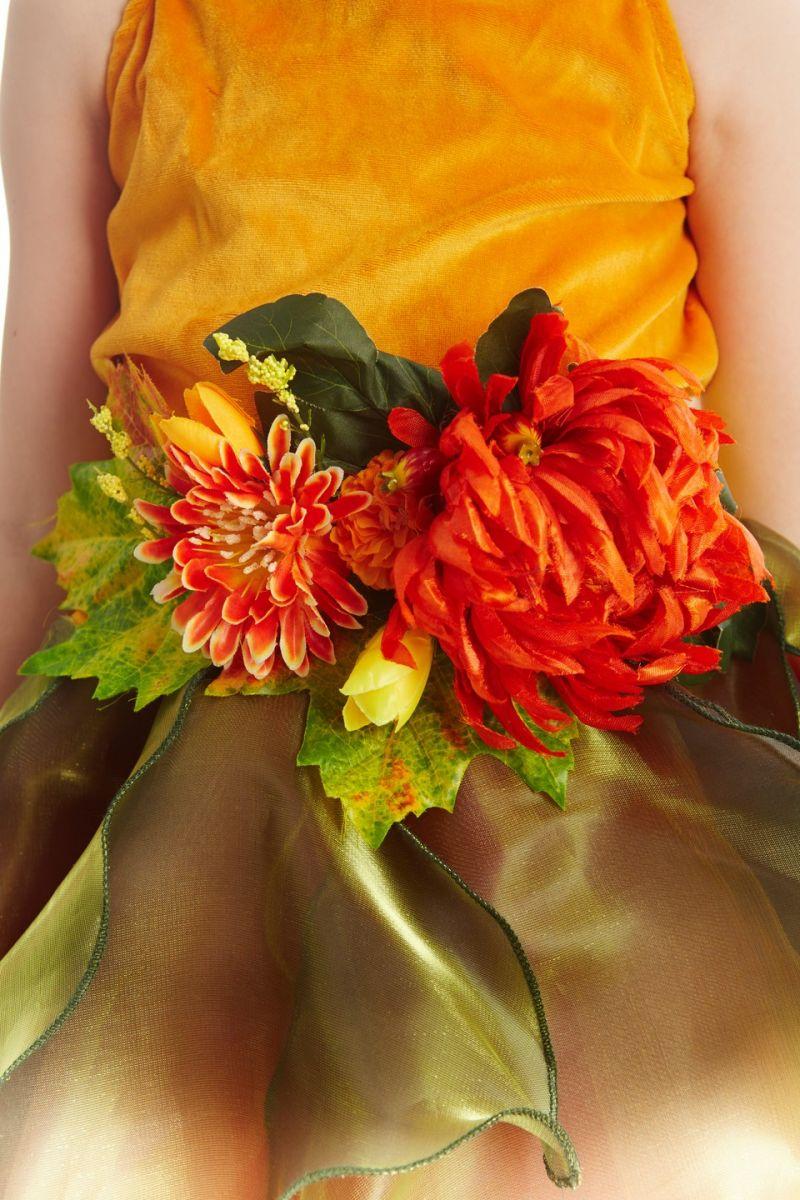 Масочка - «Осень урожайная» карнавальный костюм для девочки / фото №1121