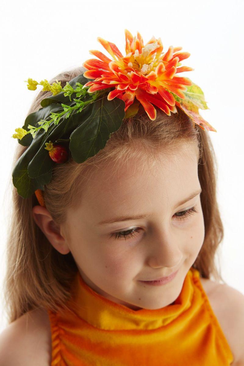 Масочка - «Осень урожайная» карнавальный костюм для девочки / фото №1122