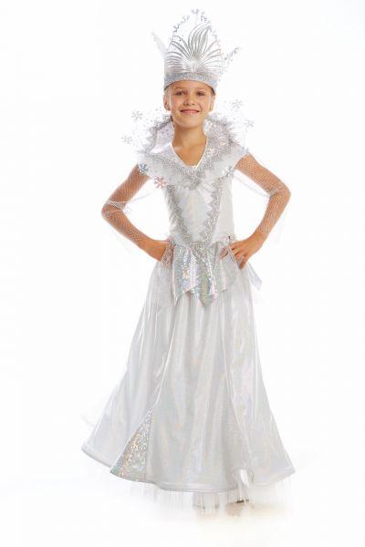 Снежная королева «Сказочная» карнавальный костюм для девочки
