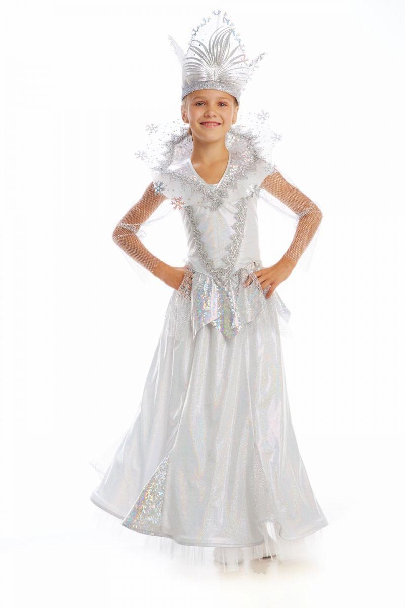 Масочка - Снежная королева «Сказочная» карнавальный костюм для девочки / фото №1127