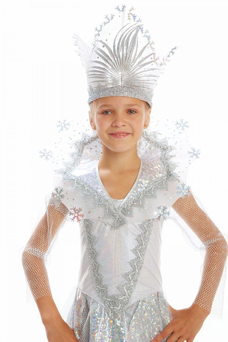 Масочка - Снежная королева «Сказочная» карнавальный костюм для девочки / фото №1128