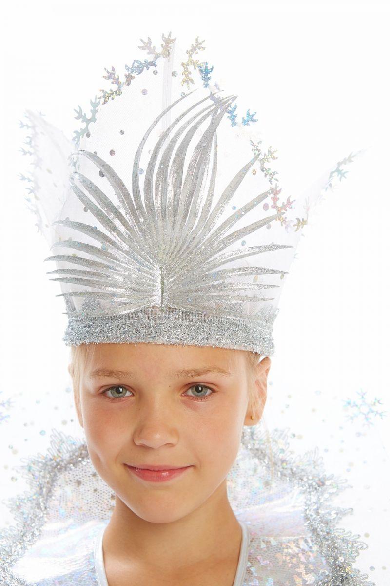 Масочка - Снежная королева «Сказочная» карнавальный костюм для девочки / фото №1129
