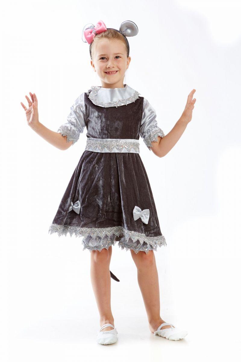 Мышка «Большая» карнавальный костюм для девочки