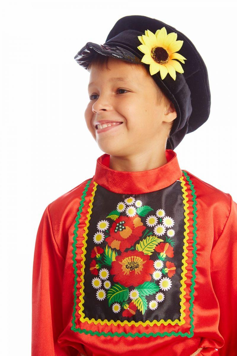 Масочка - Русский народный «Хохлома» для мальчика / фото №1131