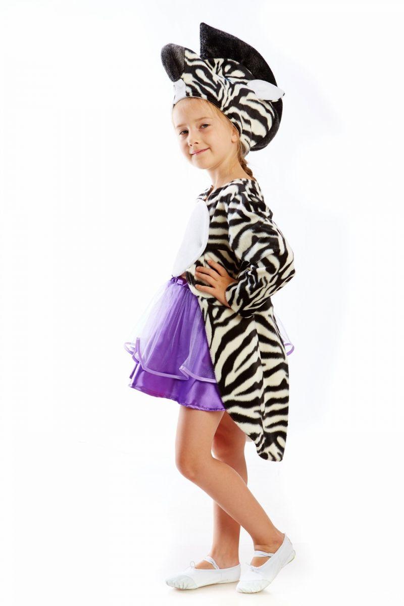 «Зеброчка» карнавальный костюм для девочки