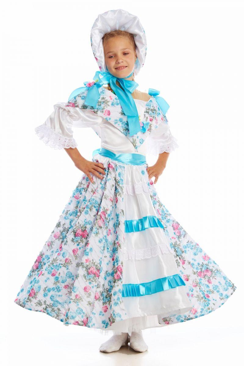 «Барышня-крестьянка» карнавальный костюм для девочки