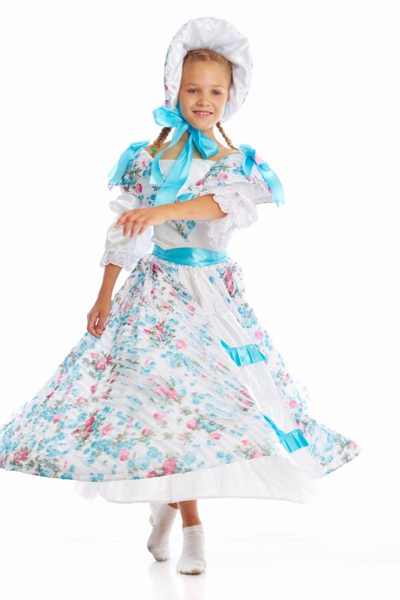 Масочка - «Барышня-крестьянка» карнавальный костюм для девочки / фото №1138