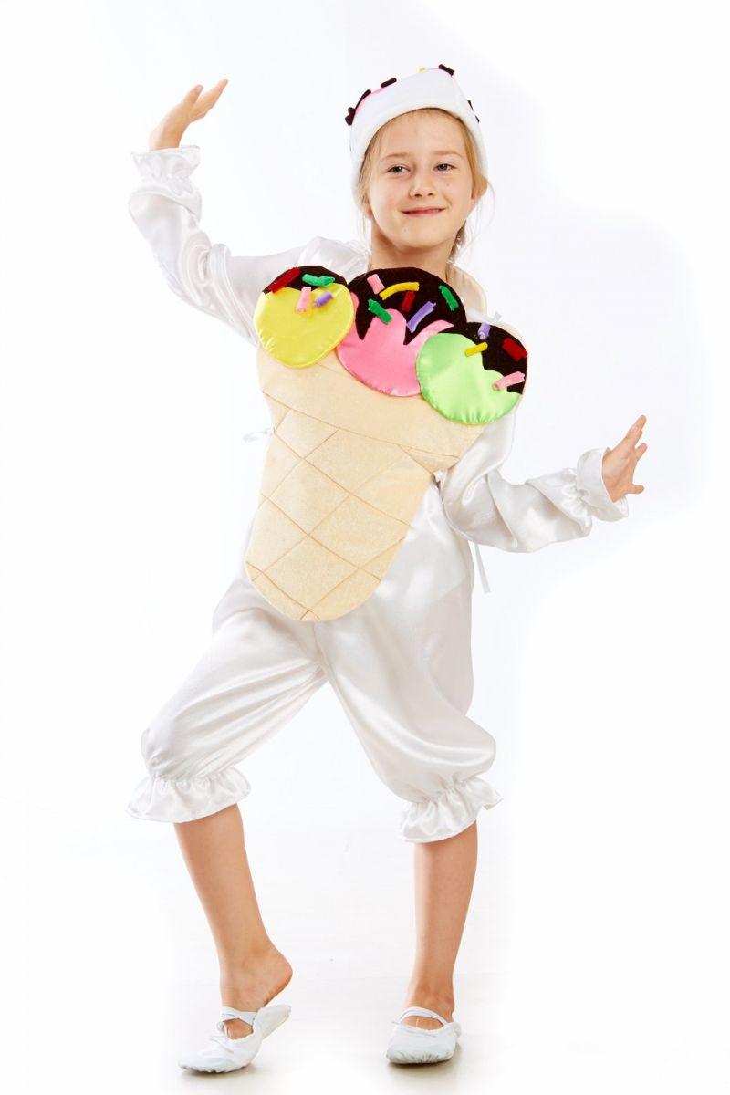 «Мороженое» карнавальный костюм для детей