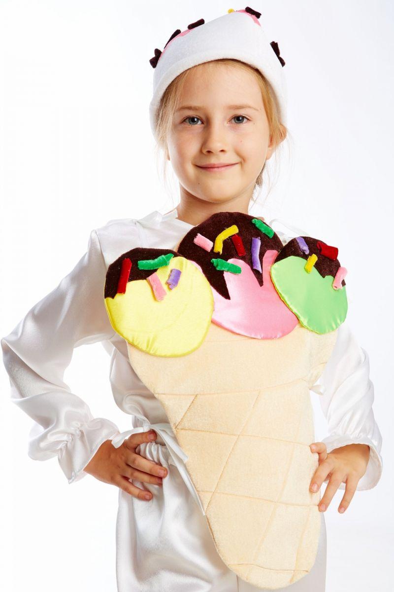 Масочка - «Мороженое» карнавальный костюм для детей / фото №1142