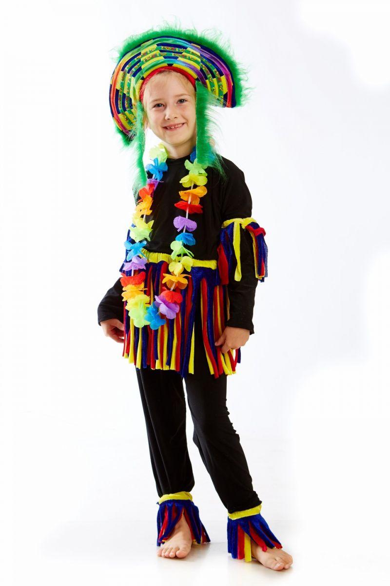Масочка - «Папуасик» карнавальный костюм для детей / фото №1146