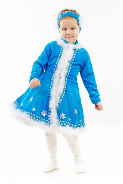 Снегурочка «Малышка» карнавальный костюм для девочки