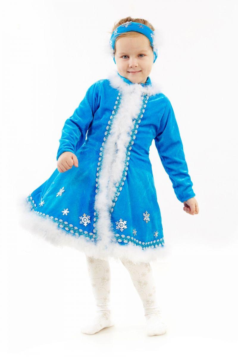 Масочка - Снегурочка «Малышка» карнавальный костюм для девочки / фото №1149