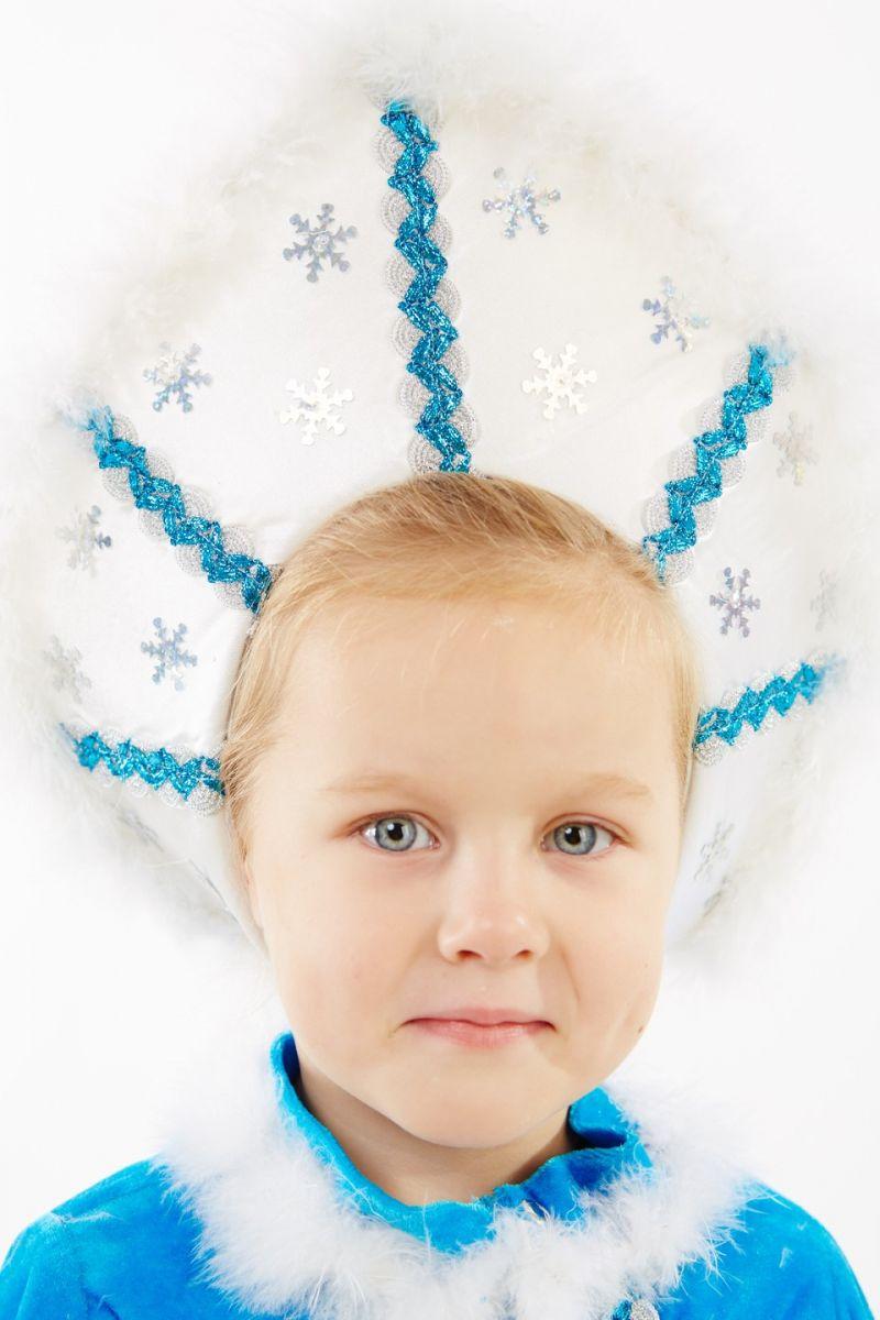 Масочка - Снегурочка «Малышка» карнавальный костюм для девочки / фото №1150