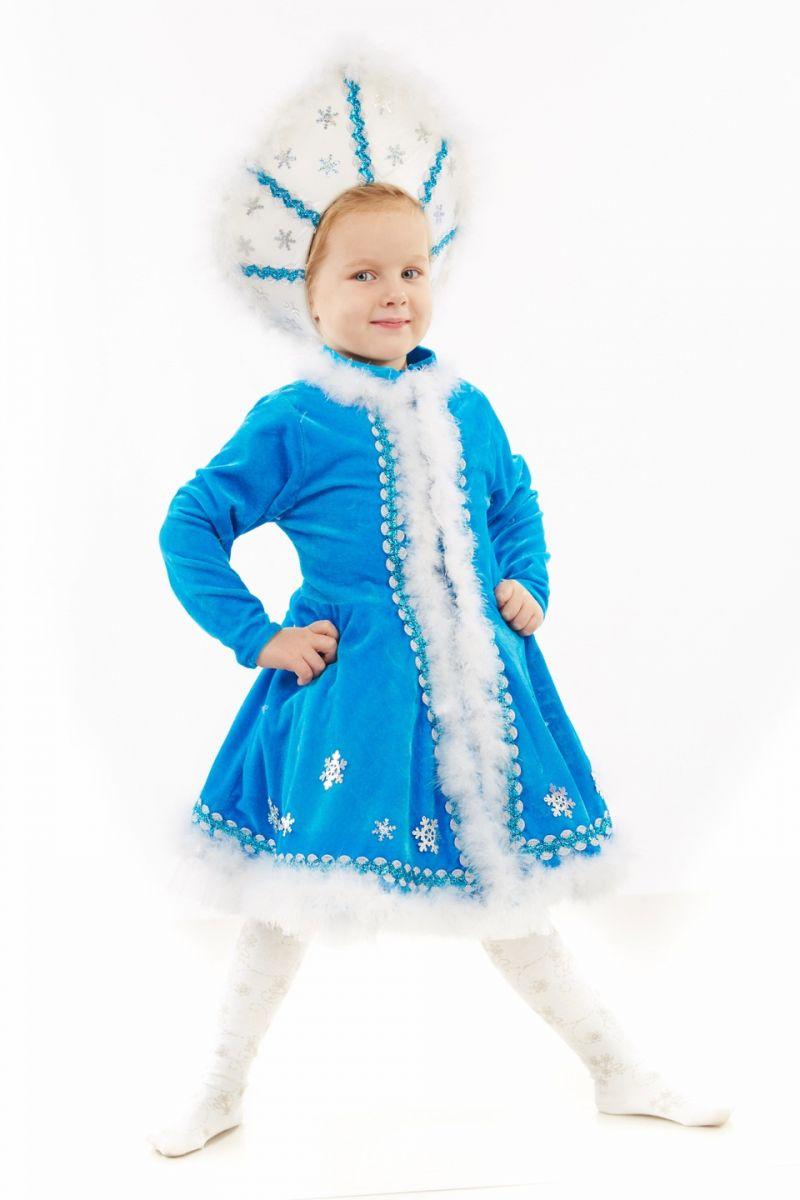 Масочка - Снегурочка «Малышка» карнавальный костюм для девочки / фото №1151